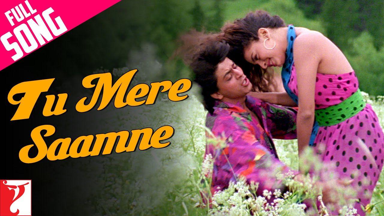Tu Mere Saamne Full Song Darr Shah Rukh Khan Juhi Chawla Sunny Lagu Youtube