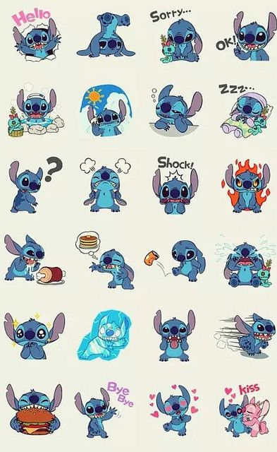 Stitch Kawaii : stitch, kawaii, Angel, STITCH, LOOOOOVE, #kawaii, #stitch..., Disney, Wallpaper,, Background,, Wallpaper