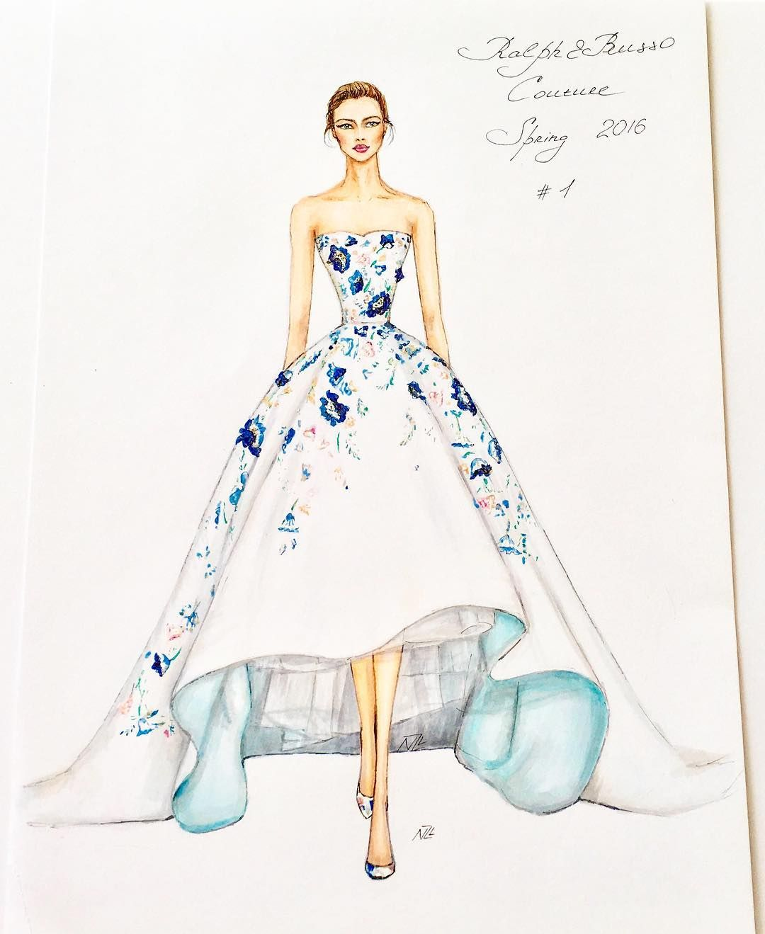 fashion design sketches summer dresses � slmn fashion blog