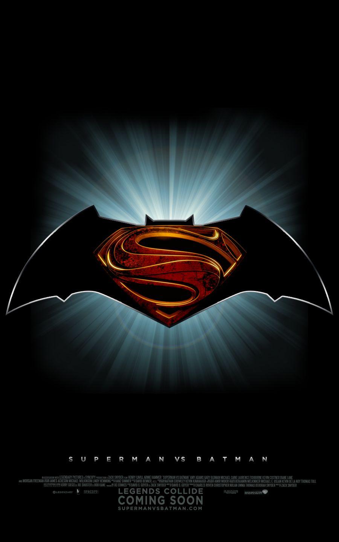 Superman Vs Batman Teaser By Enoch16 Deviantart Com On Deviantart Batman Vs Superman Superman Vs Batman Vs Superman Logo