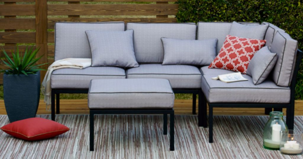 image result for jcpenney grey and black patio furniture - Jcpenney Patio Furniture