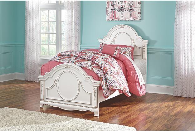 Korabella Twin Panel Bed Kid S Princess Ashley Furniture Home Arkansas Largest
