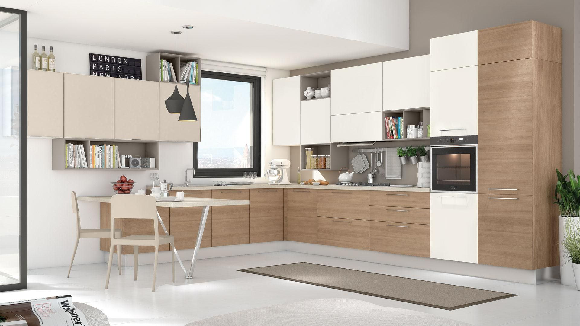 Noemi - Cucine Moderne - Cucine Lube | Interior design ...
