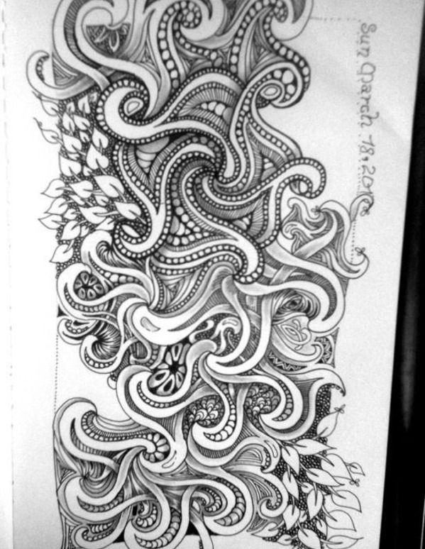 Images of Zentangle | Zentangle Art / fengle | art n crafts