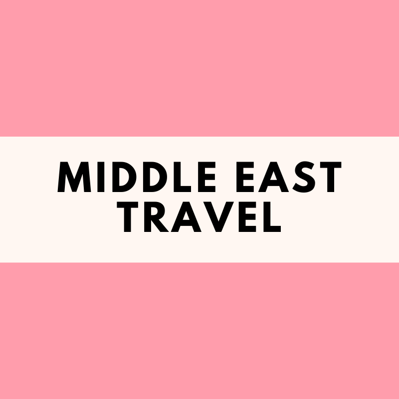 Middle East Travel Tips #traveltojordan The Middle East is one of my favorite regions in the world to travel to. There are so many wonderful destinations, from the United Arab Emirates, Jordan, and Egypt to Oman, Qatar, Israel. Find out everything you need to know from packing tips and packing lists, photography ideas, different itinerary options, and all the bucket list experiences you can have while traveling through the Middle East. #middleeasttravel #jordantravel #uaetravel #egypttravel #middleeastdestinations