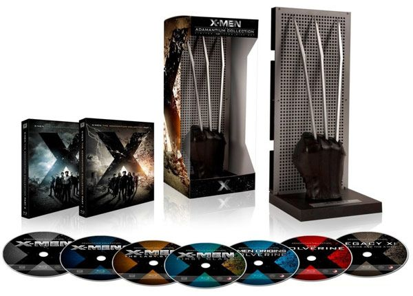 X Men The Adamantium Collection Limited Collector S Edition Blu Ray Movies X Men Blu Ray Collection