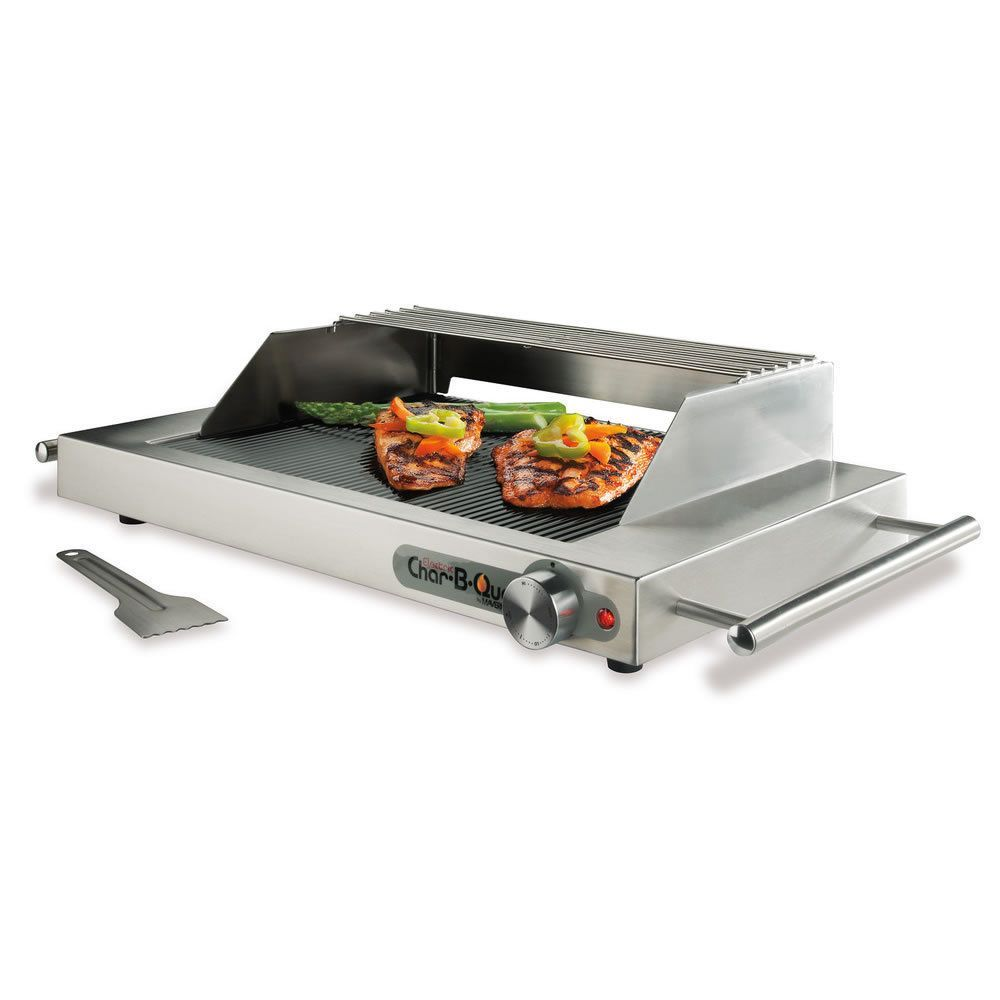 Indoor Tabletop Electric Grill ~ This tabletop electric grill is perfect for a small get
