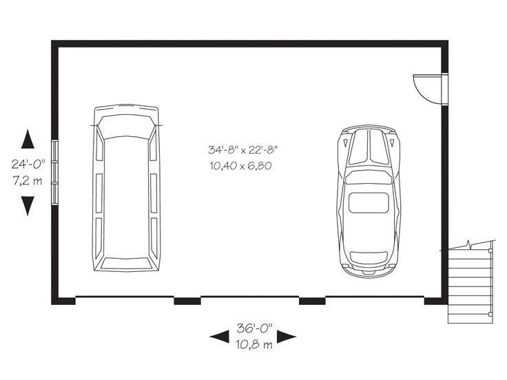 1st Floor Plan 028g 0053 Garage Plans Three Car Garage Plans Three Car Garage