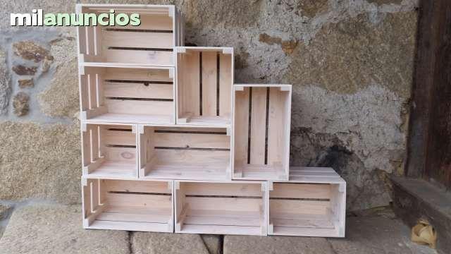 Muebles vintage con cajas foto 1 marketing pinterest - Mesas hechas con cajas de madera ...