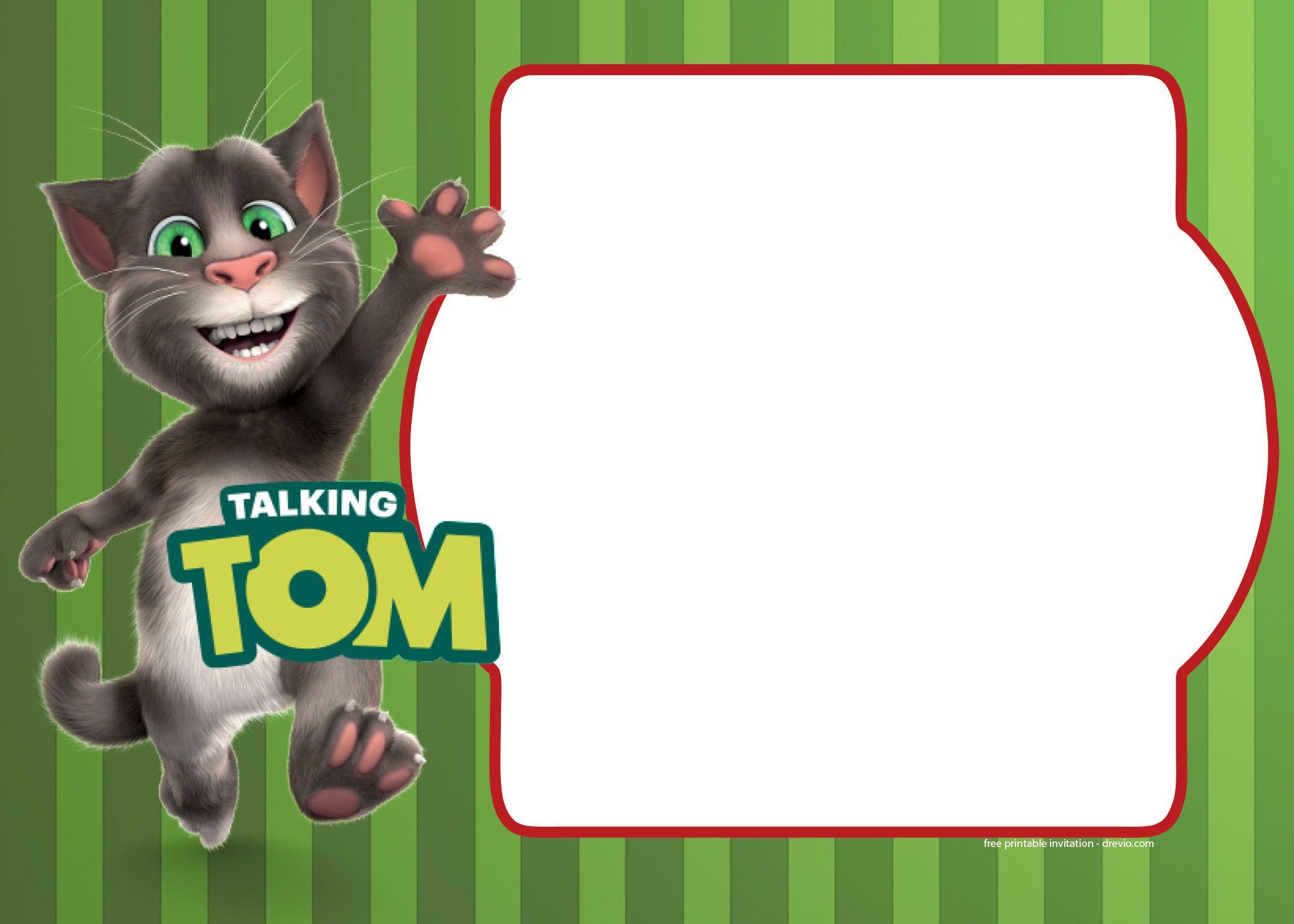 Tom And Friends Birthday Invitation Templates Cumpleaños