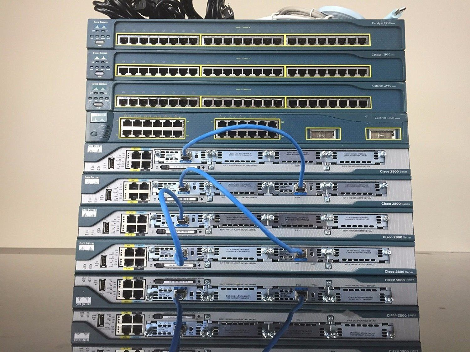 ULTIMATE Cisco CCNA and CCNP Complete home lab kit 15.1 IOS CME 8.6 ...