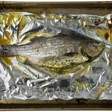Roasted Fish with Thai Pesto Recipe Recipe