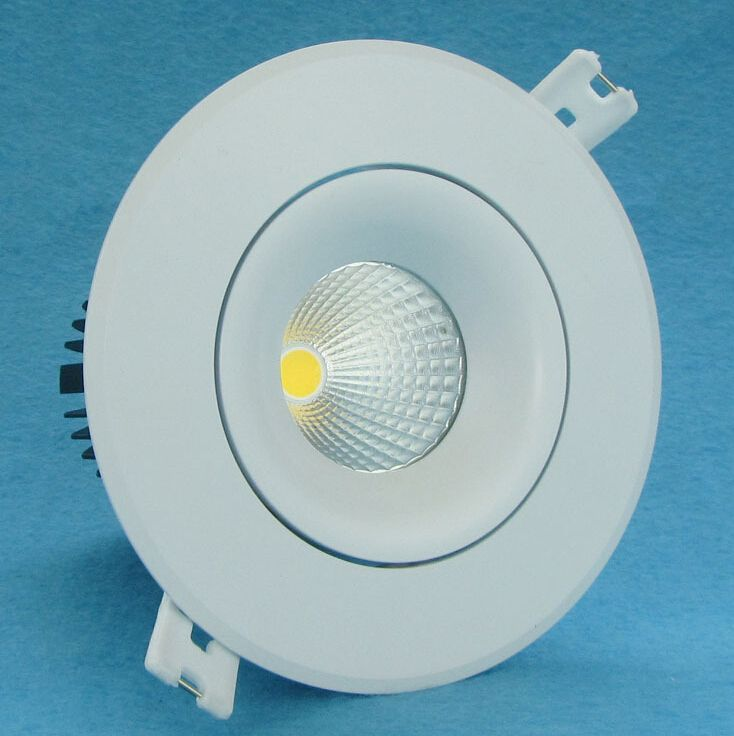Dimmable 15W Led Down Light COB Ceiling Spot Light