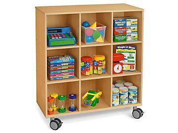Lakeshore Flex Space Mobile 9 Cubby Storage Unit