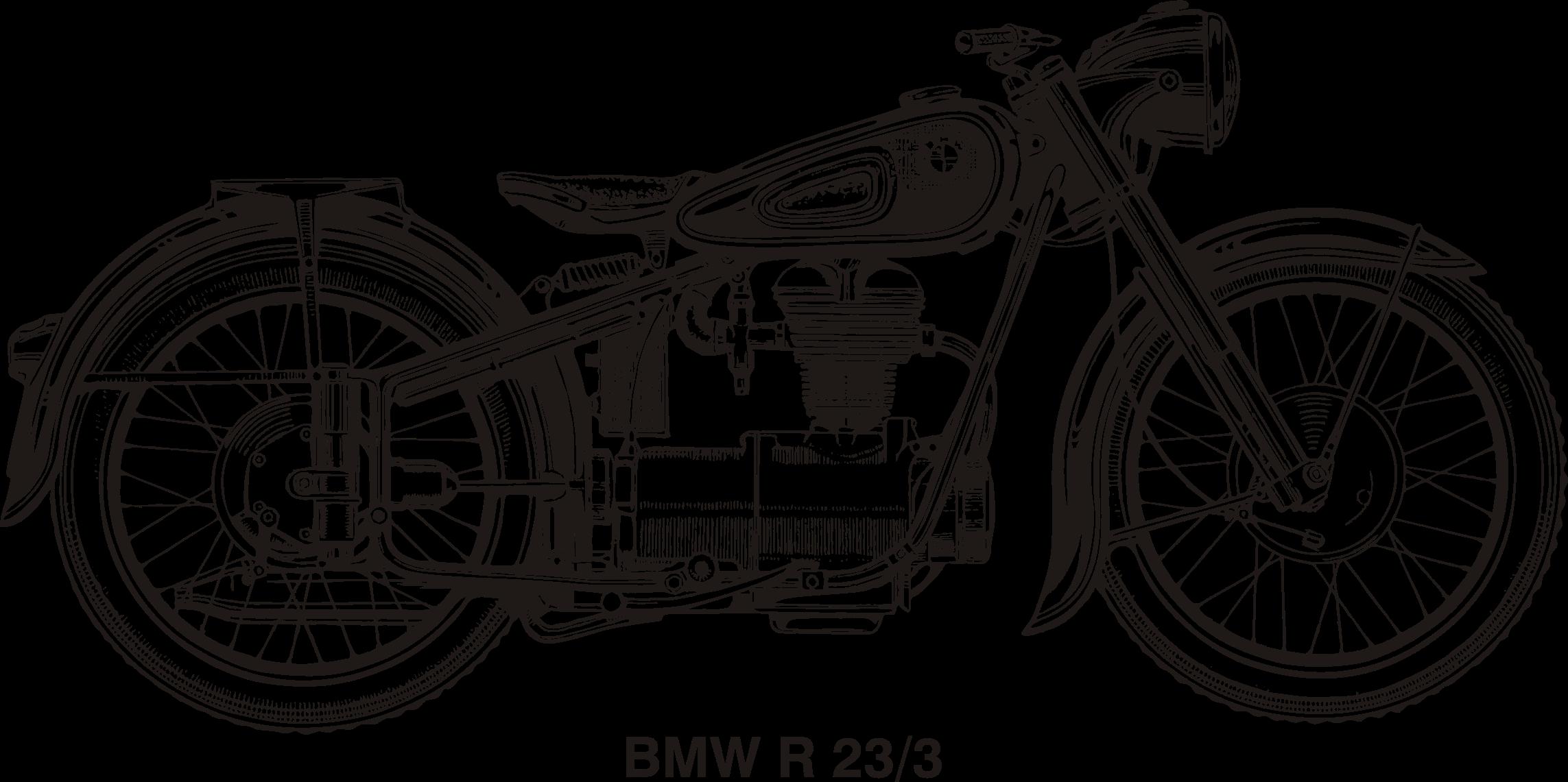 BMW R25/3, year 1953 by @Vanja, historical BMW motorcycle