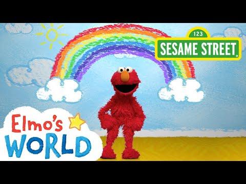 Sesame Street: Colors Elmo's World - YouTube Elmo World, Sesame Street,  Elmo