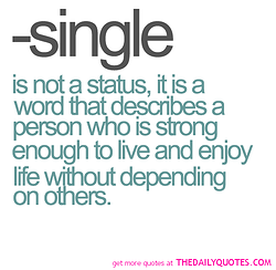 the benefits of being single