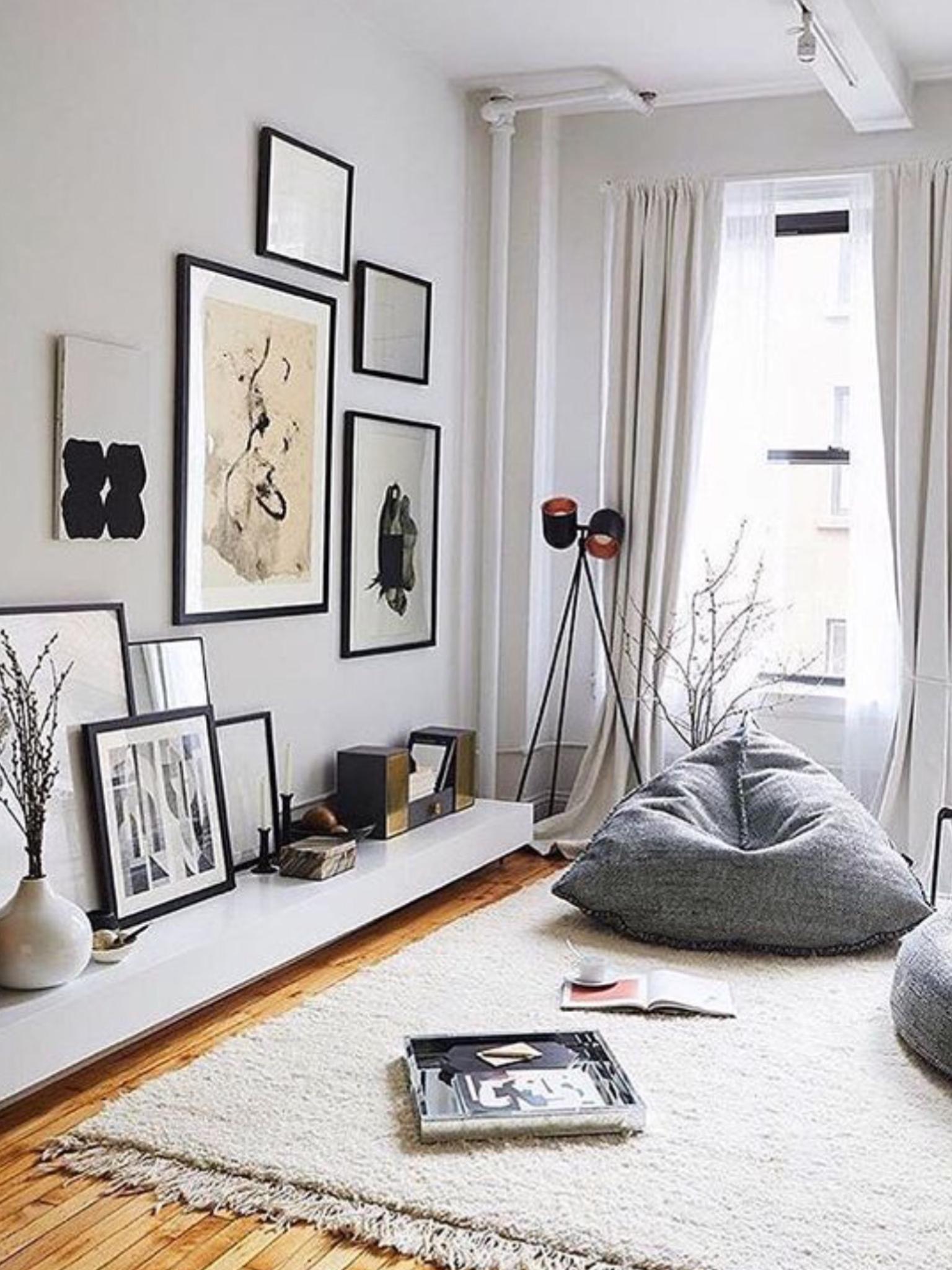 Small Living Room Ideas No Sofa  HOMYRACKS