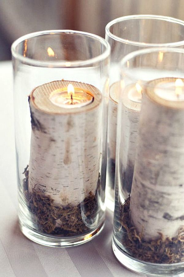 Birch Candle More