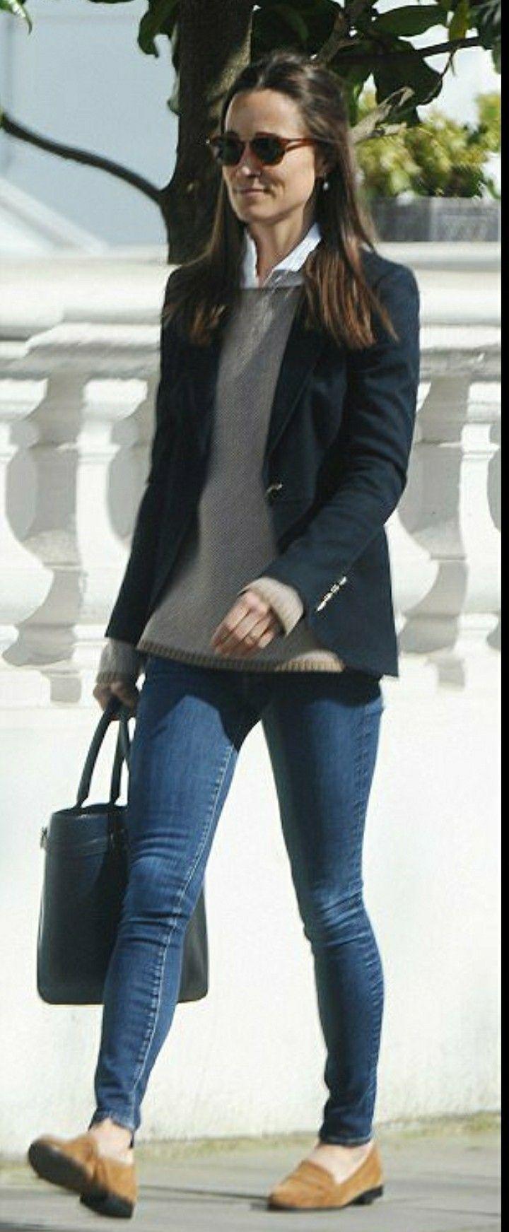 Pippa Middleton à Londres aujourd hui, le 7 avril 2017 …   Estilo ... 16e199b152