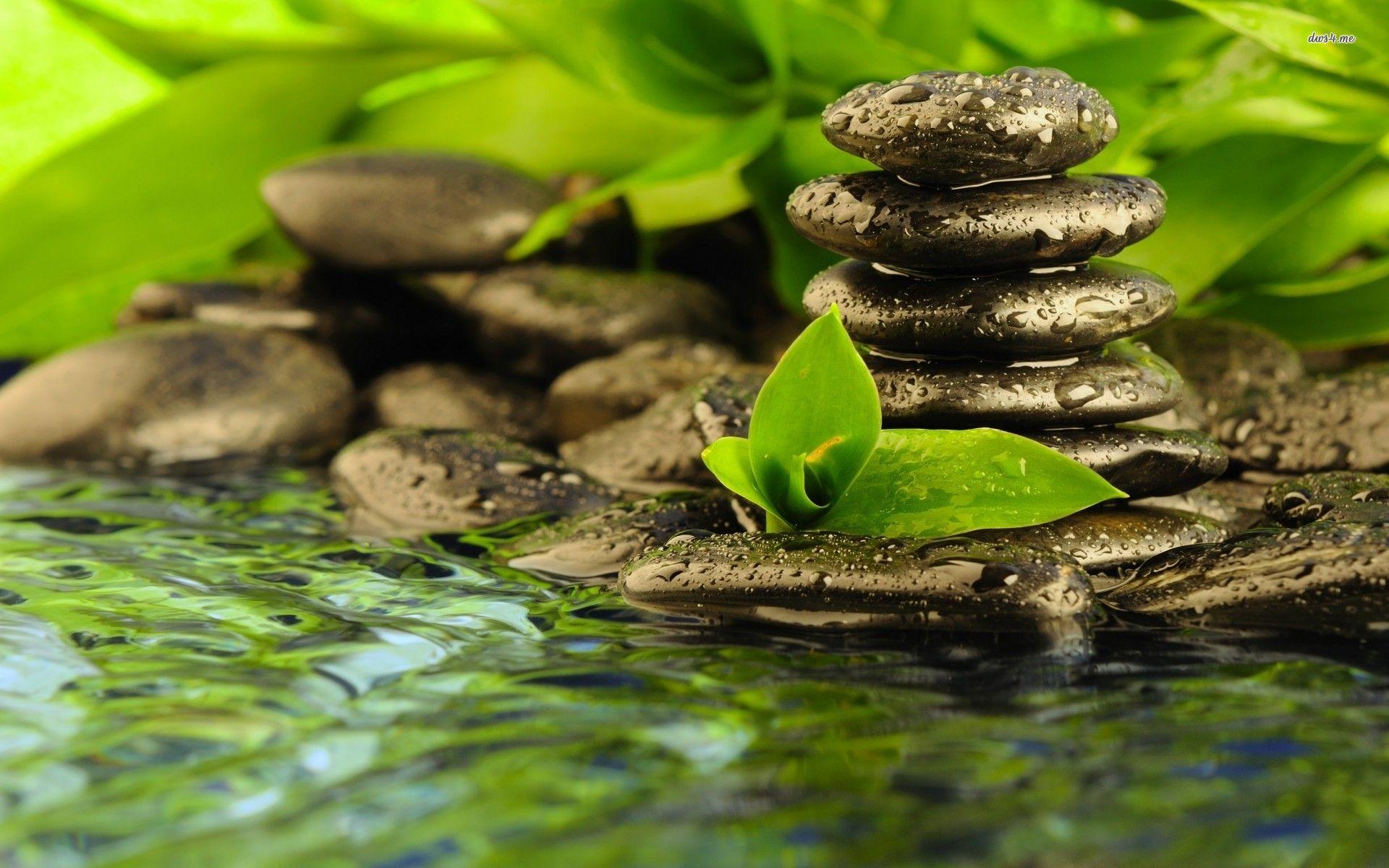 Hd wallpaper zen - Spa Zen Stones