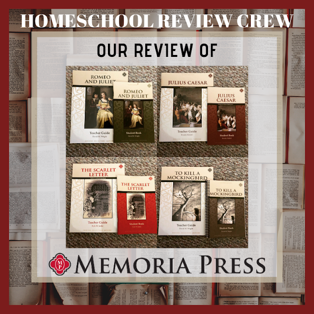 HOMESCHOOL REVIEW CREW Our Review of Memoria Press