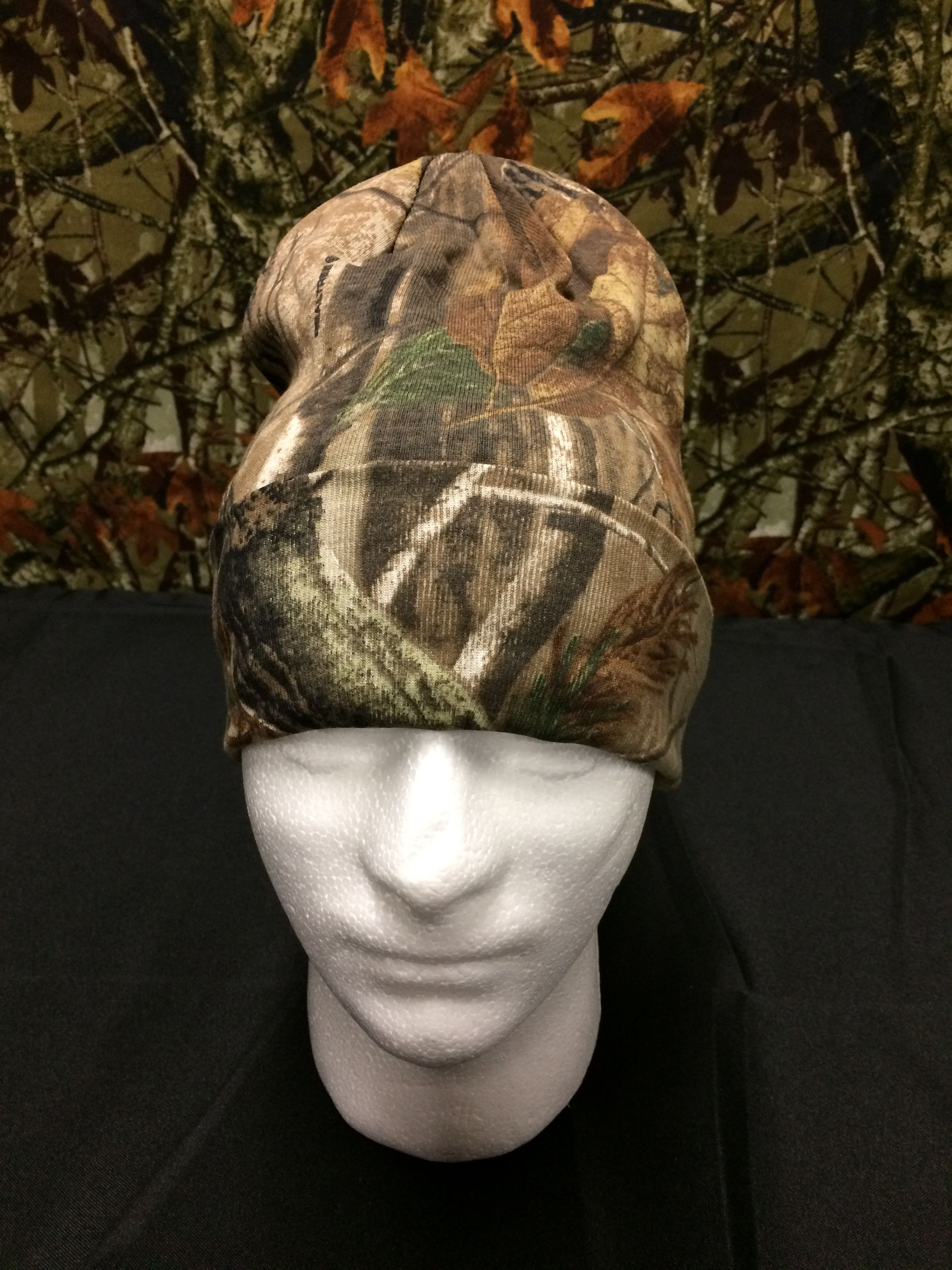 """bf4af812072 12"""" Knit Hat Realtree Camo Fishing  Hunting Winter Beanie"""
