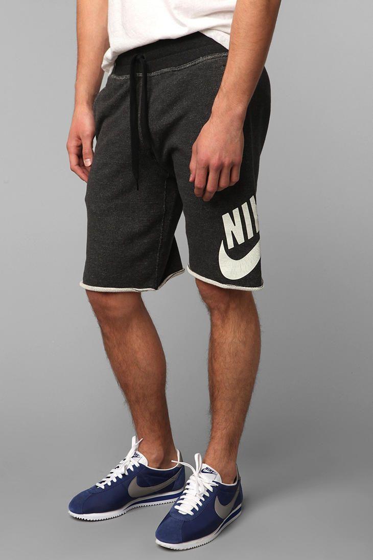 f5154009c Nike Alumni French Terry Short #UrbanOutfitters | Men's Fashion ...