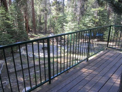 aluminum deck railing menards iron railings decks wrought panels metal steel designs