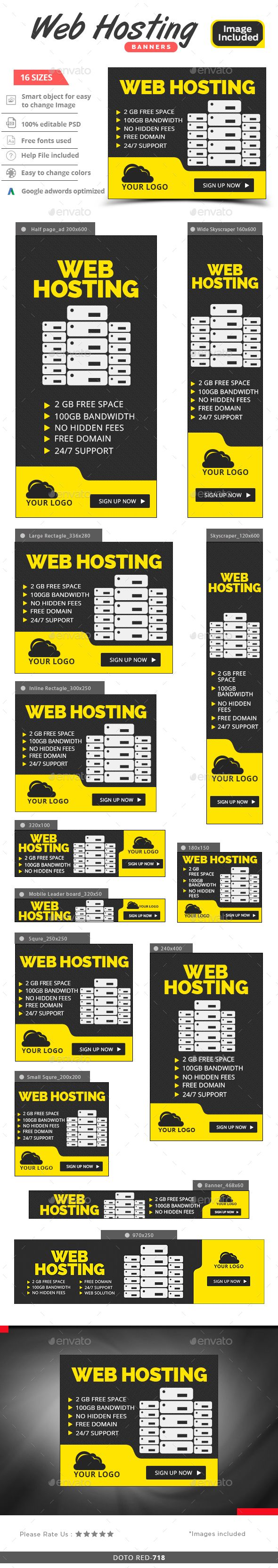 Free web hosting no banner - Web Hosting Banners