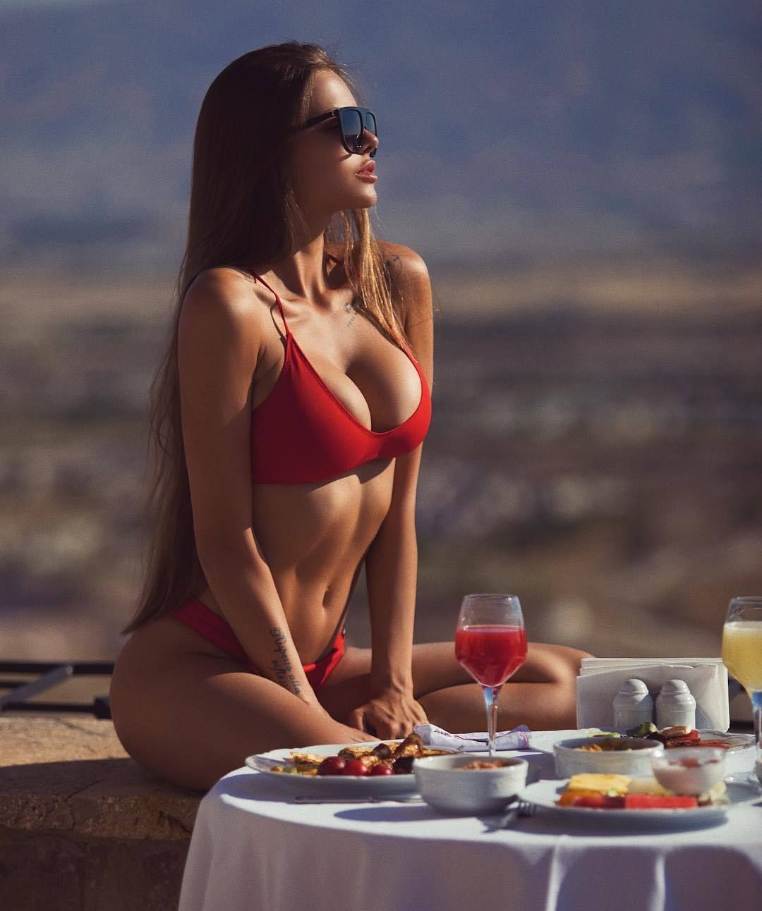 Cleavage Viktoria Odintcova nude photos 2019
