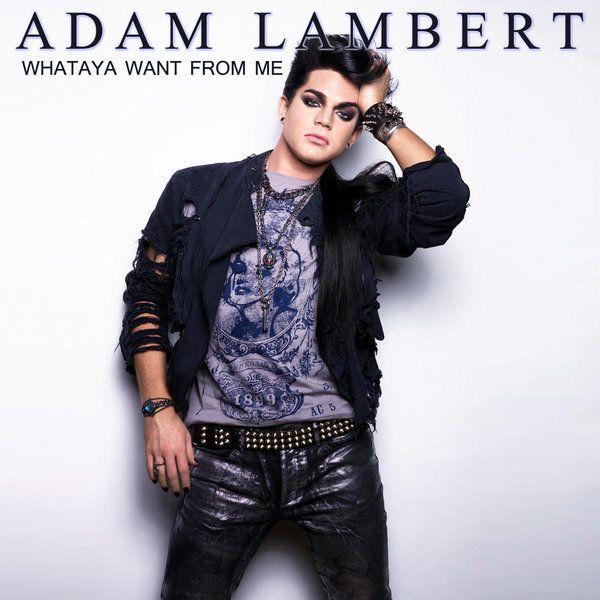 Aadam Lambert What Do You Want From Me Album Cover Adam Lambert