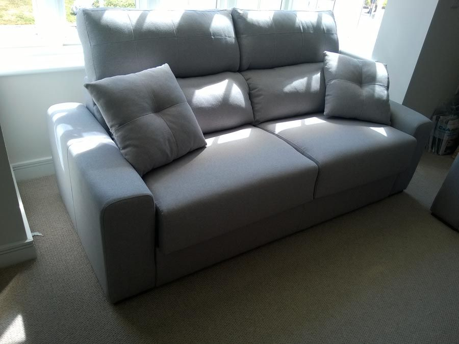 Contemporary Sofa Bed In Fabric Magno Offers Comfortable Seating And A Memory Foam