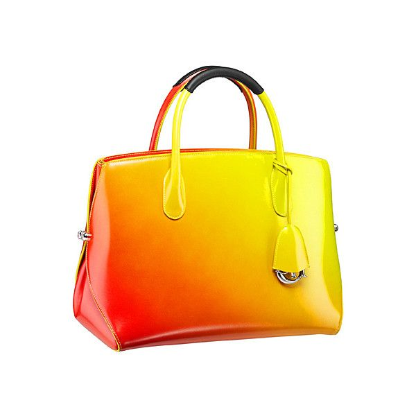 OOOK - Dior - Cruise Bags 2014 - LOOK 4 | Lookovore ❤ liked on Polyvore featuring bags, handbags, dior, purses, orange purse, man bag, orange hand bag, orange bag and hand bags