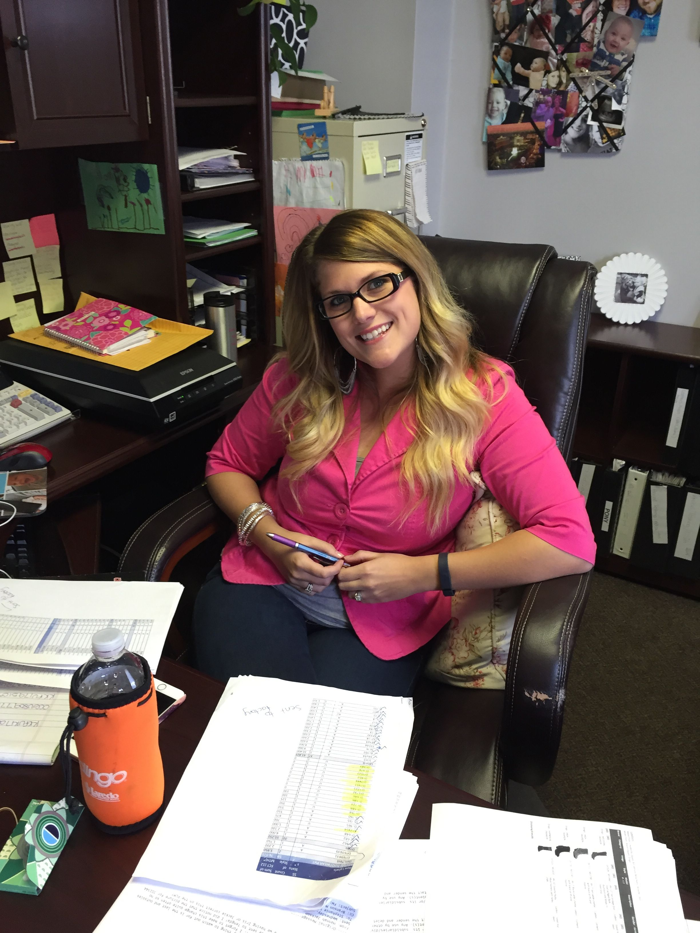 Hannah J., 2015 Pretty In Pink Day at @danpostbootco in support of #BreastCancerAwareness