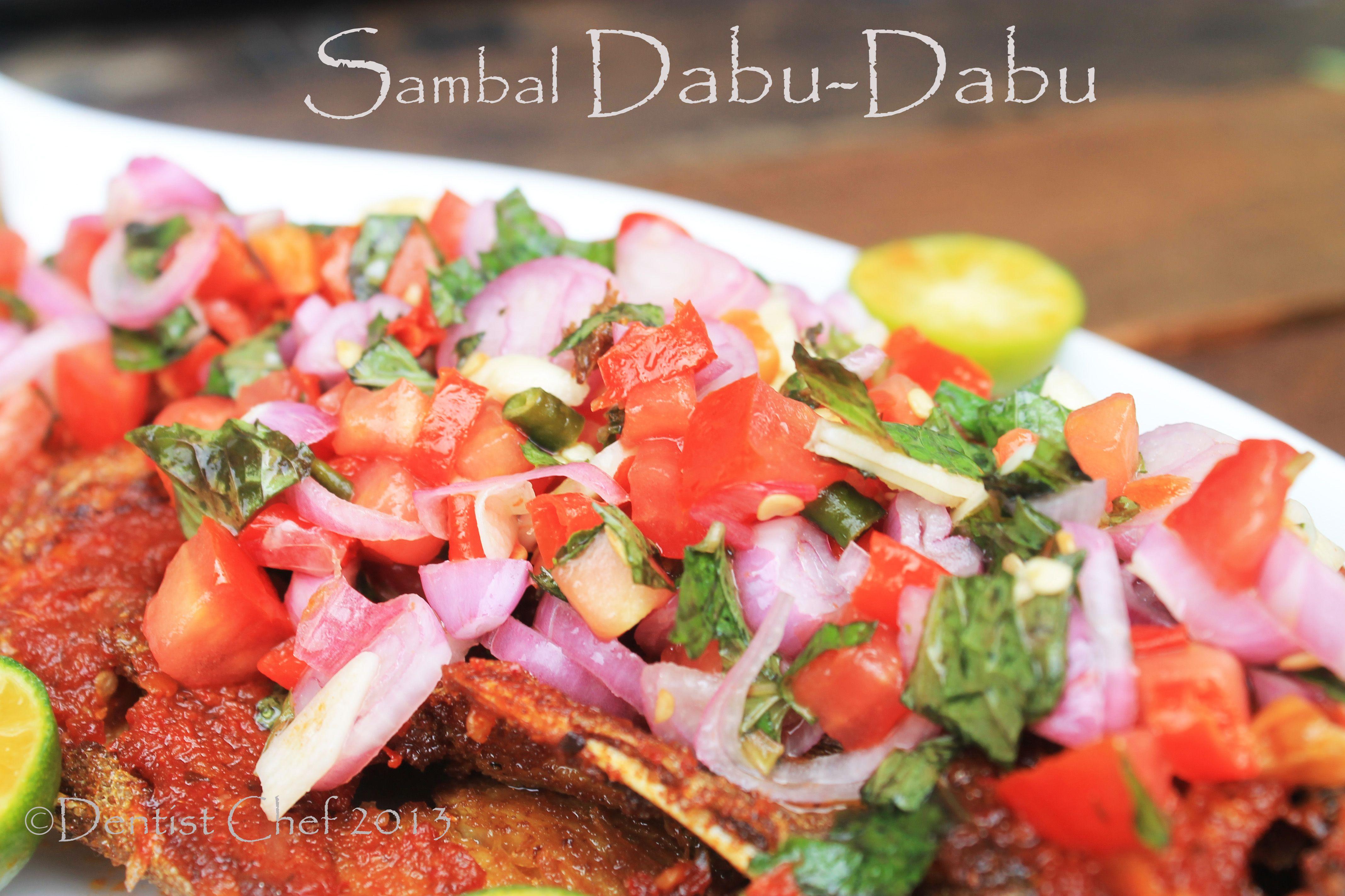 Resep Sambal Dabu Dabu Khas Manado Manadonese Raw Chilli Salsa Merica Masakan Resep Masakan Asia