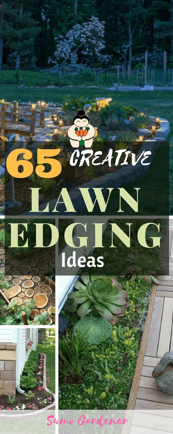 65+ Lawn & Flowers Edging Ideas To Enhance Form Of Your Garden