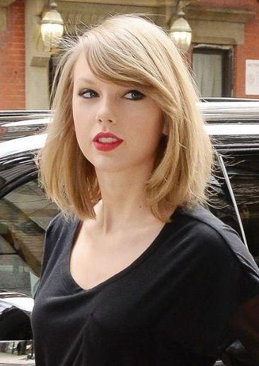 Taylor Swift Short Bob 2015 Haircut Taylor Swift Short Hair Taylor Swift Hair Hair Styles 2014