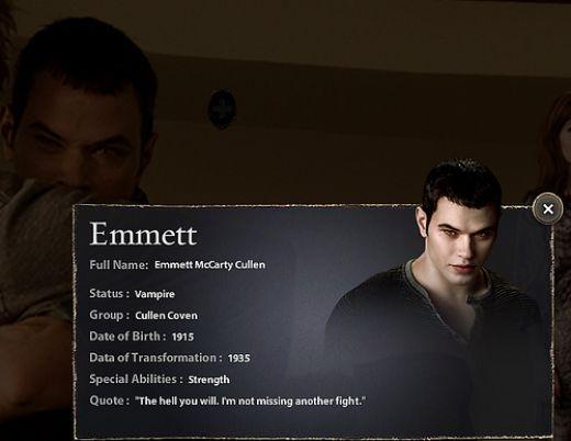 Emmett cullen and edward cullen