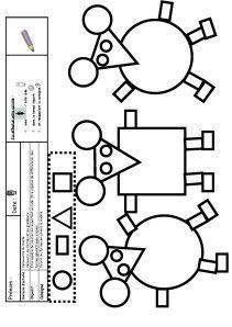 Coloriage Cod Plus Math Formes Géométriques Trois