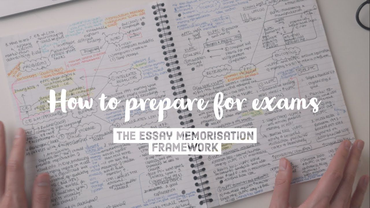 How I Ranked 1st At Cambridge University The Essay Memorisation Framework How To Memorize Things College Essay Tips Essay
