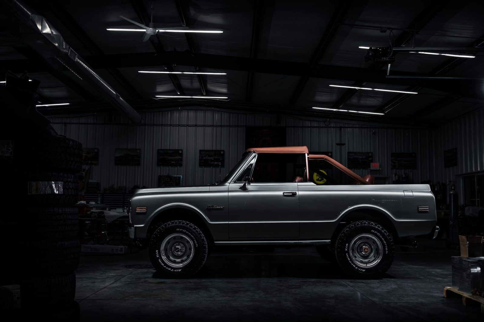 The Ringbrothers Chevrolet K5 Blazer A 430 Bhp Classic Off Roader Chevrolet K5 Blazer Chevy