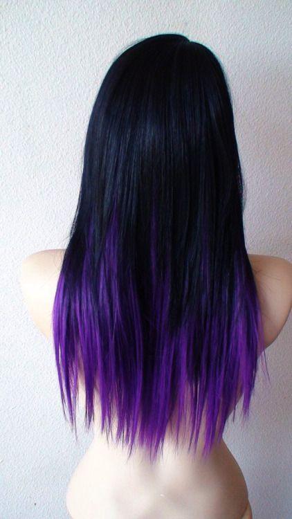 Ombre Hair Tumblr Hair Styles Hair Color Purple Purple Hair Tips