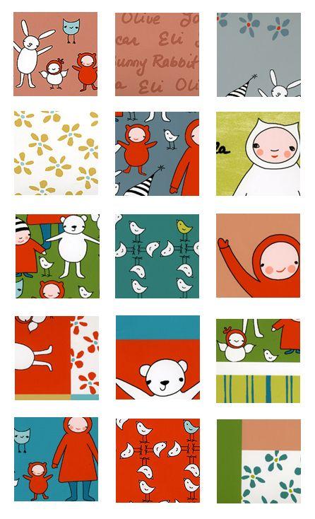 Marisa and creative Thursday for Andover fabrics