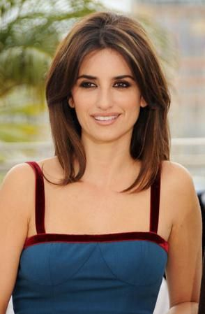 Penelope Cruz Hairstyle Medium Hair Styles Penelope Cruz