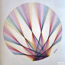 Image result for geometric string art patterns