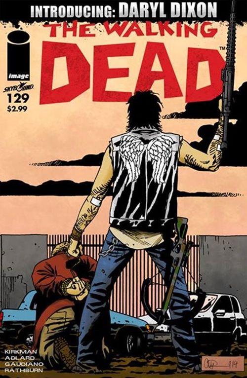 Daryl Dixon in The Walking Dead Comics?! April Fools' APRIL FOOLS