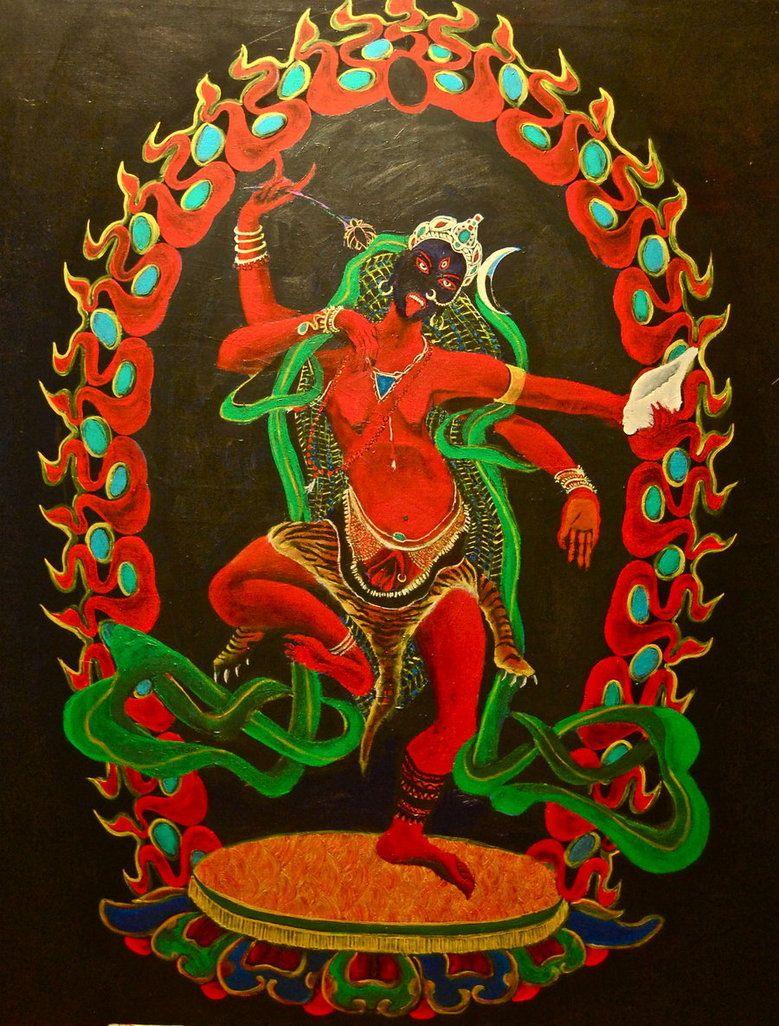 Arkadiusz Danovski, Red Yogini  Kurukulla, Tantric Buddhist