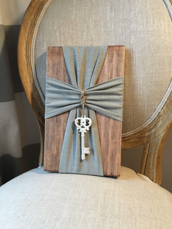 Fabric & wood cross by SunKissedPoppy on Etsy https://www ... - photo#18