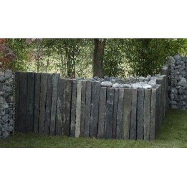 piquet de vigne en ardoise jardiland jardin garden garden. Black Bedroom Furniture Sets. Home Design Ideas